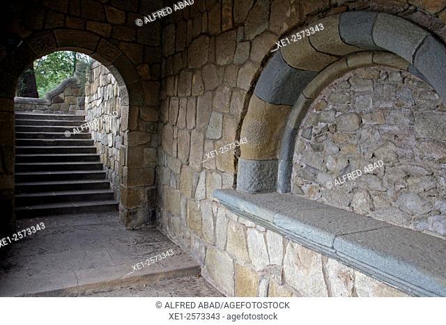 Torribera Precinct, Santa Coloma de Gramenet, Catalonia, Spain