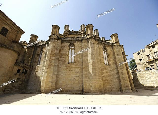 Santa Maria Cathedral. Tortosa. 1597. Gothic and baroque. Apse