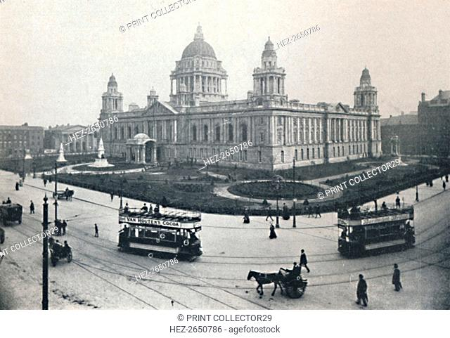 'City Hall, Belfast', 1917. Artist: Unknown