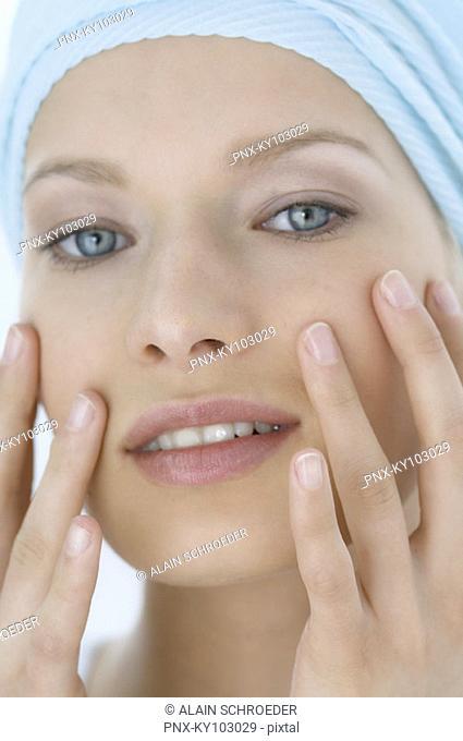 Woman face care