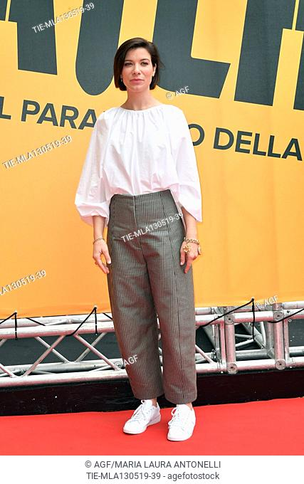 Tessa Ferrer during 'Catch-22' TV show photocall, Rome, Italy - 13 May 2019