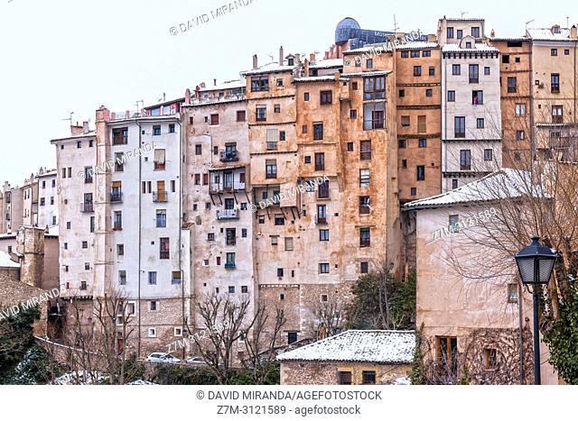 Medieval skyscrapers. Cuenca. Spain