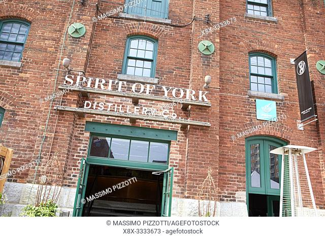 Distillery Historic District, Toronto, Canada
