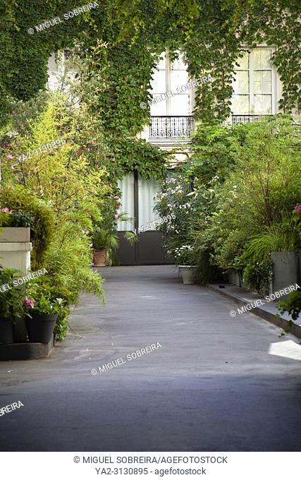 Parisienne Courtyard - Paris, France