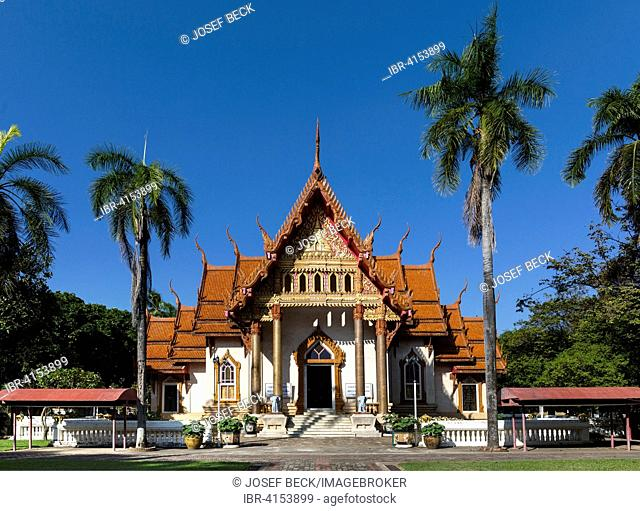Wat Si Ubon Rattanaram, Sri Ratanaram Temple, Ubon Ratchathani, Isan, Isaan, Thailand
