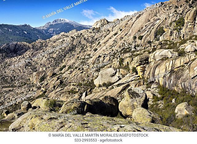 Musgogenesis cliffs. La Pedriza Regional Park. Madrid. Spain