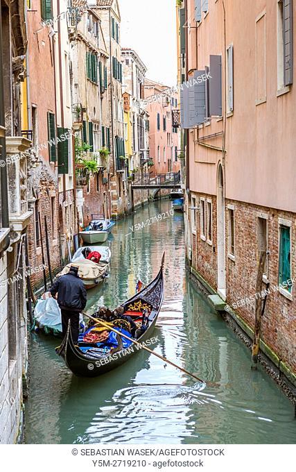 Rio del Miracoli, Venice, Veneto, Italy, Europe