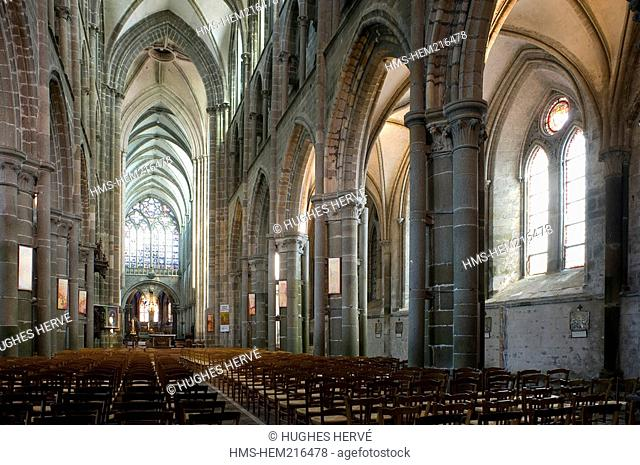 France, Ille etVilaine, Dol de Bretagne, Saint Samson Gothic Cathedral