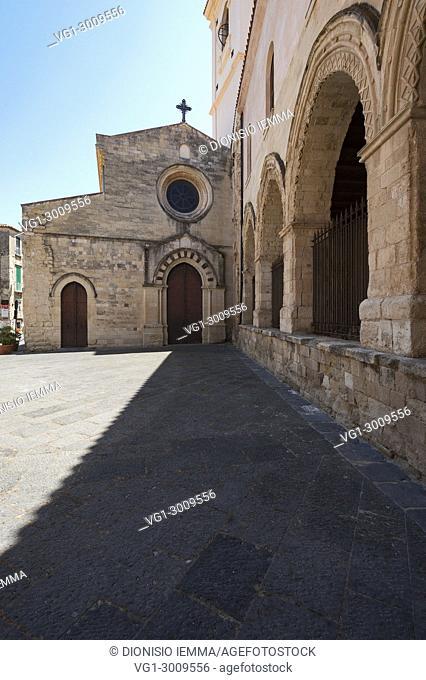 Cathedral Maria Santissima di Romania, Tropea, Vibo Valentia district, Tyrrhenian coast, Calabria, Italy, Europe