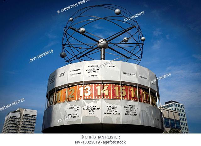 World Clock on Alexanderplatz, Berlin, Germany