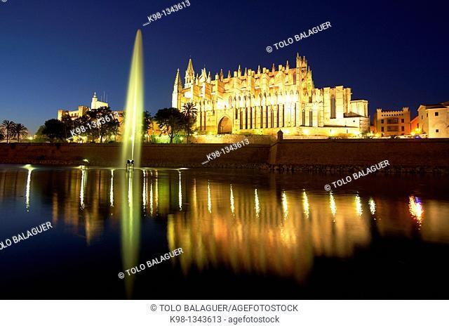 Palma Cathedral La Seu, XIV-XVI centuries Palma Mallorca Baleares Spain
