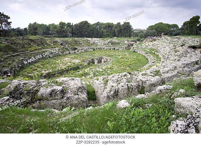 Syracuse Sicily roman arena