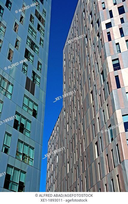 Novotel hotel, office building, 22@, Barcelona, Catalonia, Spain