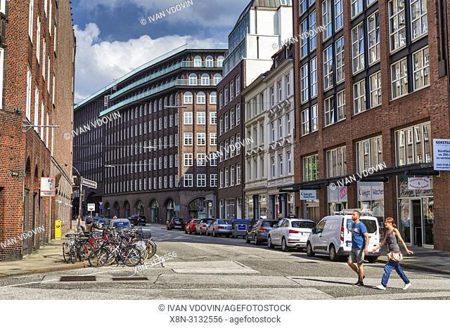 Montanhof (1926), Hamburg, Germany
