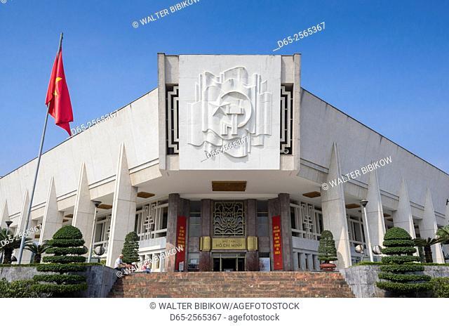 Vietnam, Hanoi, Ho Chi Minh Museum, exterior