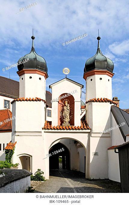Dillingen Bavarian Swabia Germany castle former residence of the prince-bishops of Augsburg