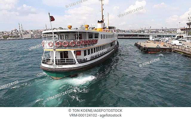 ferry on the Bosphorus, istanbul