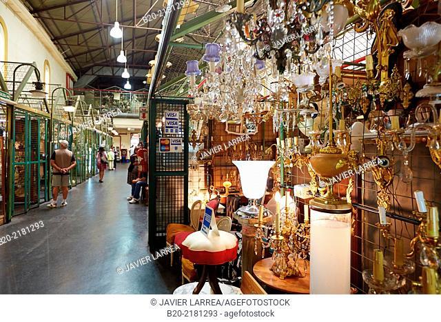 Antiques market. Sunday market. San Telmo. Buenos Aires. Argentina