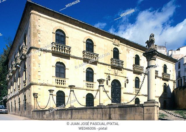 Casa de las Cadenas, Cazorla. Jaén province, Andalusia, Spain