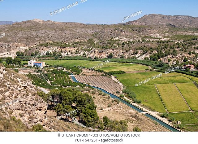 Calasparra Rice is grown in the mountains of the Province of Murcia in Spain, Europe