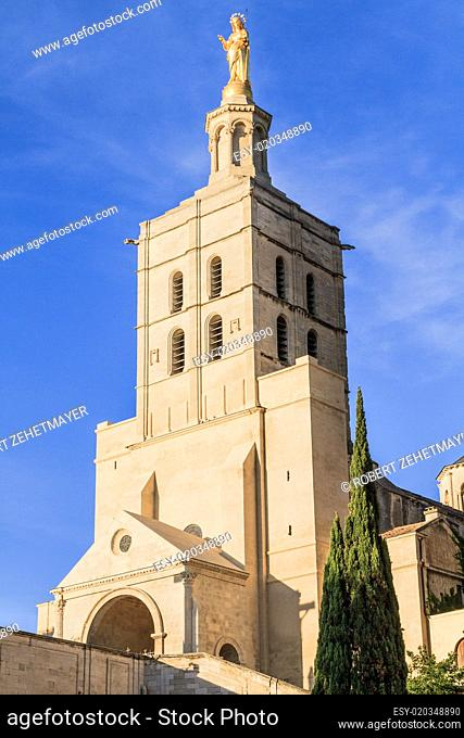 Avignon - Notre Dames des Domes Church near Papal Palace, Proven