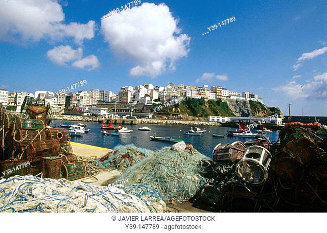 Harbour, Malpica. Costa da Morte, A Coruña province, Galicia, Spain