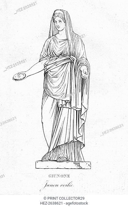 'Giunone (Junon voilée)', c1850. Artist: Unknown
