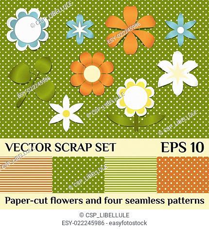 vector scrap set