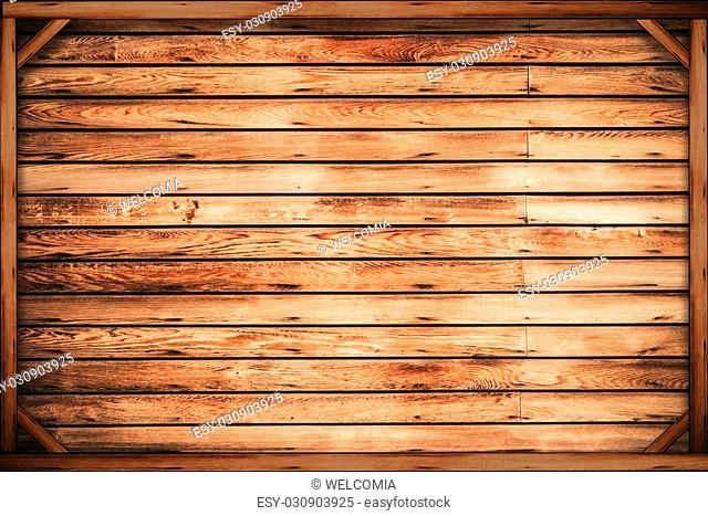Wooden Crate Background. Wood Backdrop