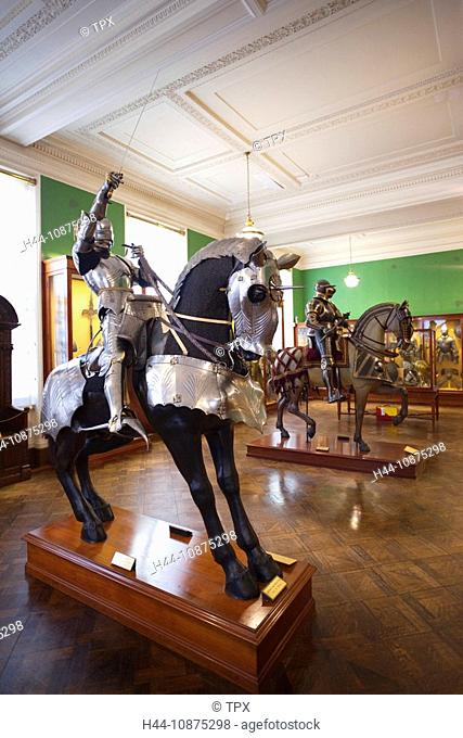 England, London, The Wallace Collection Art Gallery, Armoury Display