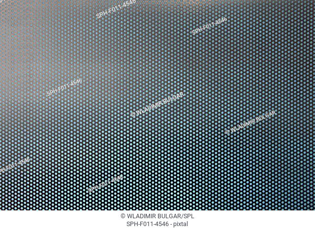 Repetitive background, computer illustration