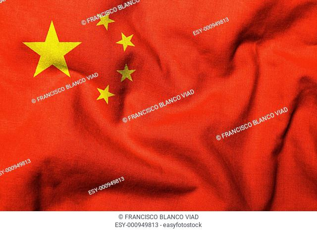 3D Flag of China