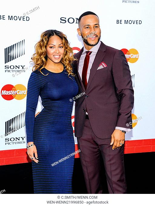 Meagan good arrival premiere Stock Photos and Images