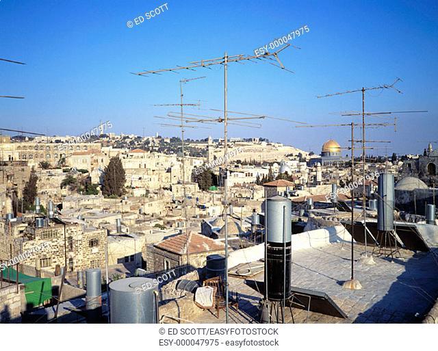 Christian sector of old city. Jerusalem. Israel