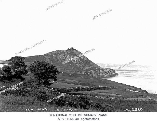 Tor Head, Co. Antrim - a view of the headland. (Location: Northern Ireland; County Antrim; Torr Head)