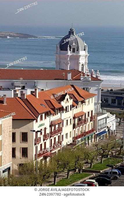Casino tower, Santander, Spain