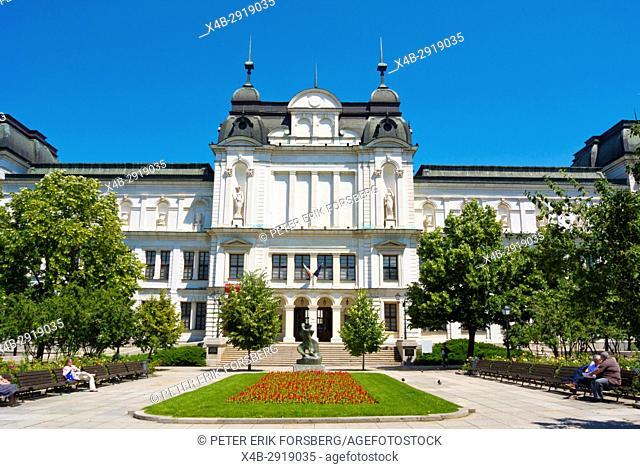 Quadrat 500, Square 500, new national art gallery, opened in 2017, Sofia, Bulgaria