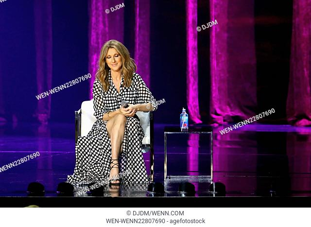 Celine Dion Returns to The Colosseum at Caesars Palace Las Vegas Featuring: Celine Dion Where: Las Vegas, Nevada, United States When: 27 Aug 2015 Credit:...