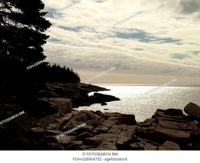 Acadia National Park, ME, Maine, Mount Desert Island, Atlantic Ocean, Frenchman Bay, Schoodic Peninsula