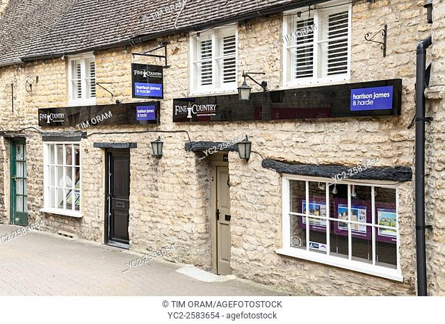 Fine & Country Estate Agents at Stow-on-the-Wold , Cheltenham , Gloucestershire , England , Britain , Uk
