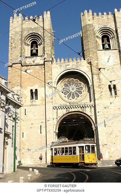 TRAMWAY NUMBER 28, LISBON, PORTUGAL