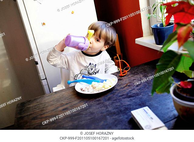 boy, baby, kid, child, childhood, foof, feed, snack, dinner, lunch, dish, eating, meal, eat, drink