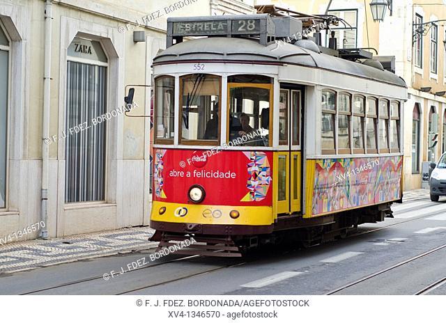 Rua do Comercio, Lisbon, Portugal