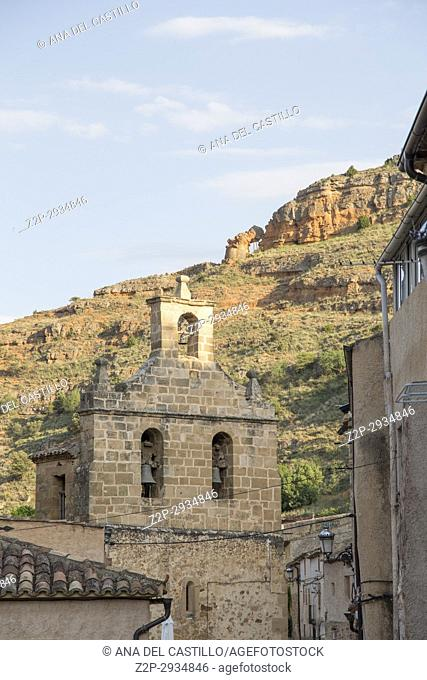 Somaen village in Soria province Castile Leon. Spain