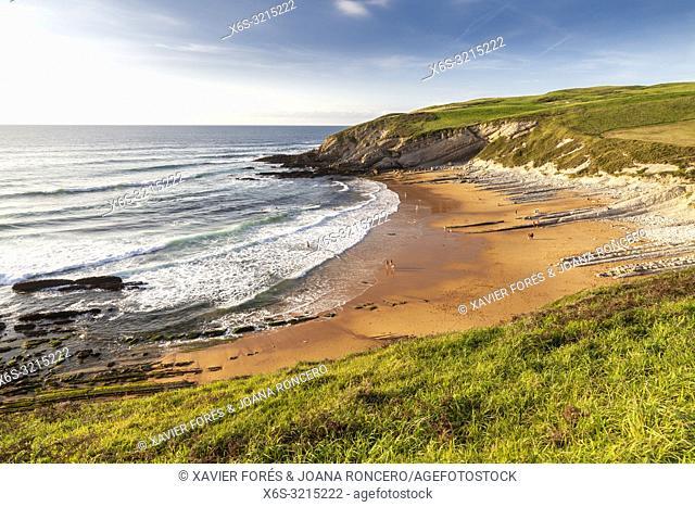Tagle beach, Tagle, Cantabria, Spain