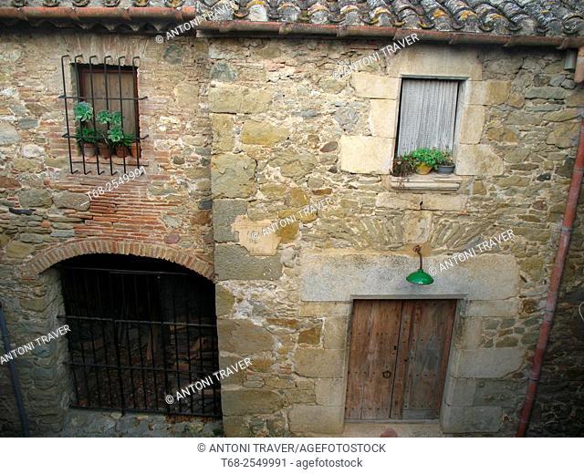 San Marti Vell, Girona province, Catalonia, Spain