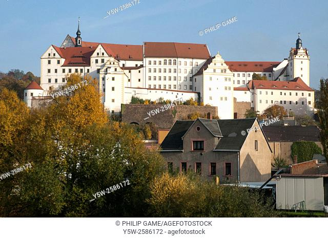 "Colditz Castle, the supposedly """"escape proof"""" Second World War prison camp for Allied officer prisoners-of-war held in Nazi Germany"