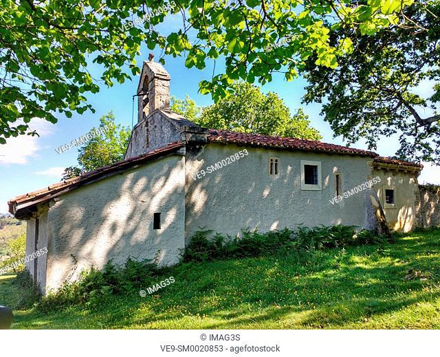Pre-Romanesque church of Santo Tomás de Priandi, Nava, Asturias, Spain