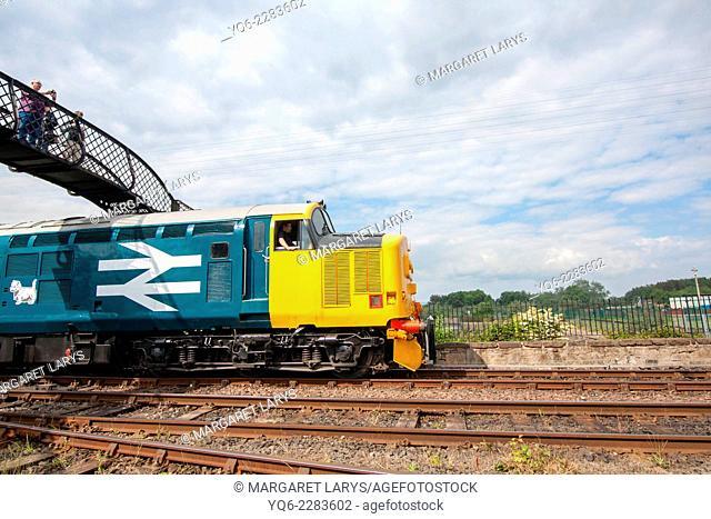 Former main-line diesel locomotive, BR Co-Co Class 37