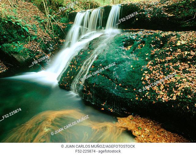 River Infierno. Foz Moñacos. Piloña. Asturias. Spain